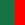 Verde Bottiglia / Rosso