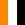 Arancione / Bianco / Nero