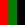 Rosso / Verde / Nero