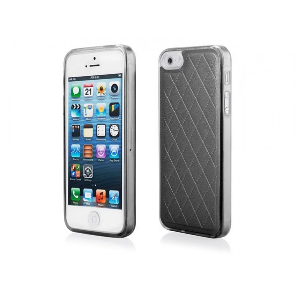 CUSTODIA COVER EFFETTO PELLE PER APPLE IPHONE 5 - 5S