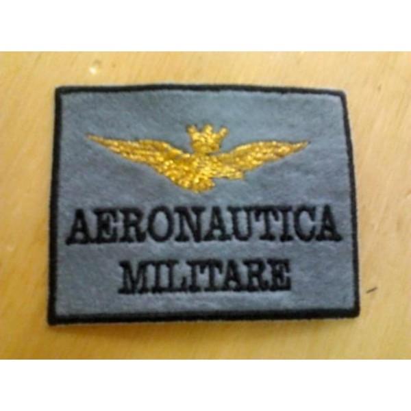 PATCH AERONAUTICA MILITARE IN FELTRO - TOPPA TERMOADESIVA