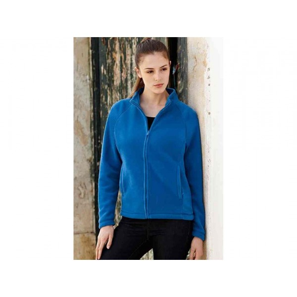 PILE DONNA LADY-FIT ZIP LUNGA FRUIT OF THE LOOM