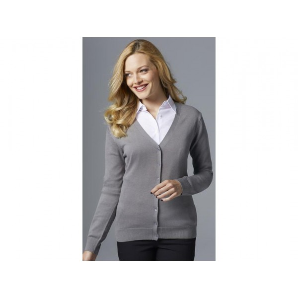 CARDIGAN DONNA SCOLLO A V GOLDEN WOMEN SOL'S