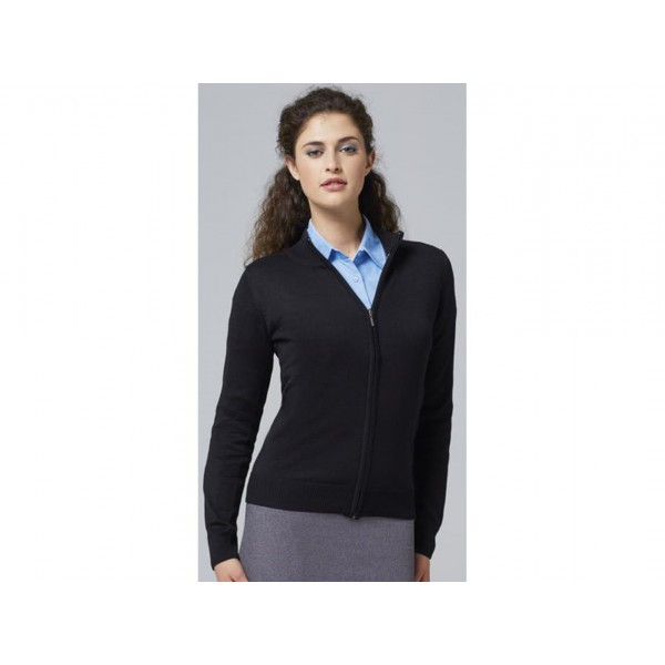 CARDIGAN DONNA CON ZIP GORDON WOMEN SOL'S