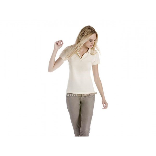 POLO DONNA IN COTONE BIOLOGICO BIOSFAIR B&C COLLECTION