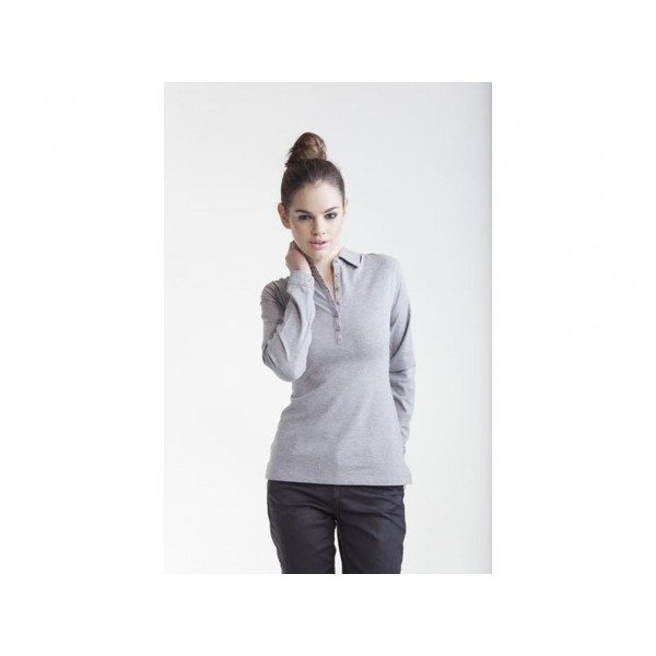 POLO DONNA MODERN ESSENTIAL LS SKINNIFIT