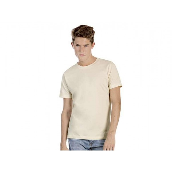 T-SHIRT UOMO BIOSFAIR IN COTONE BIOLOGICO B&C COLLECTION