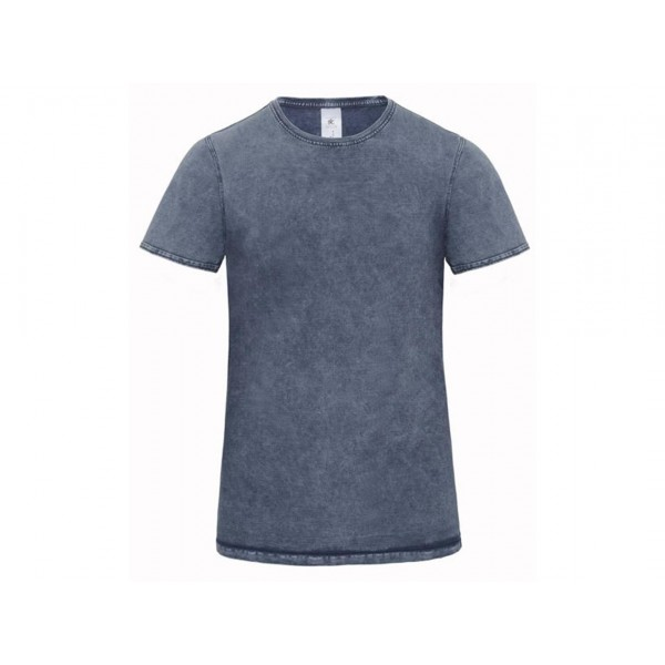 T-SHIRT UOMO DENIM MANICHE CORTE DNM EDITING B&C COLLECTION