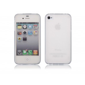 CUSTODIA COVER IN SILICONE PER APPLE IPHONE 4 - 4S