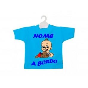 MINI T-SHIRT BIMBO A BORDO