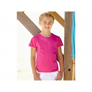T-SHIRT BAMBINA VALUEWEIGHT FRUIT OF THE LOOM