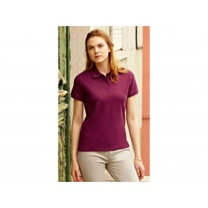 POLO DONNA LADY FIT PREMIUM FRUIT OF THE LOOM