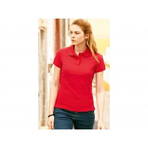 POLO DONNA LADY FIT 65/35 FRUIT OF THE LOOM
