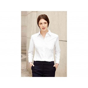 CAMICIA DONNA POPELINE MANICA LUNGA FRUIT OF THE LOOM