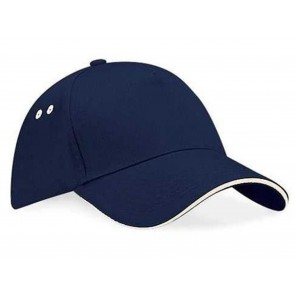 CAPPELLO BASEBALL CON BORDO IN CONTRASTO BEECHFIELD