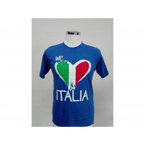 T-SHIRT UNISEX MANICA CORTA WE LOVE ITALIA EURO 2016
