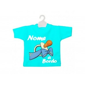MINI T-SHIRT BIMBO A BORDO