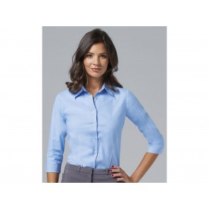 CAMICIA DONNA STRETCH MANICA 3/4 EFFECT SOL'S