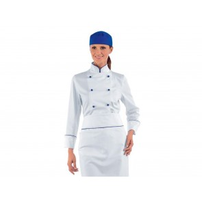 GIACCA CHEF DONNA LADY BLUECHEF ISACCO