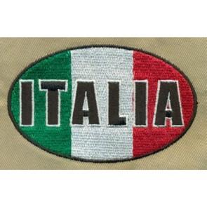PATCH RICAMATA ITALIA - TOPPA TERMOADESIVA