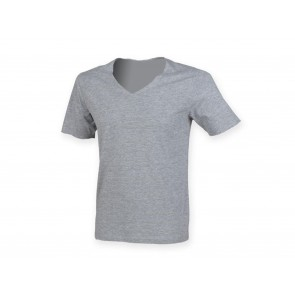 T-SHIRT UOMO WIDE NECK V SKINNIFIT