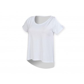 T-SHIRT DONNA DROP TAIL SKINNIFIT