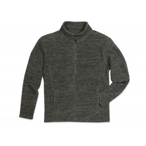 FELPA UOMO ACTIVE MELANGE FLEECE JACKET STEDMAN