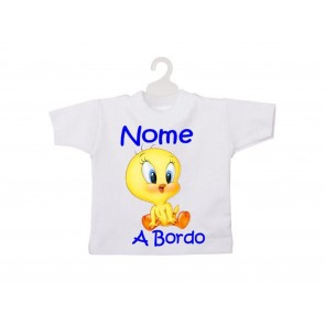 MINI T-SHIRT BIMBO A BORDO - TITTI