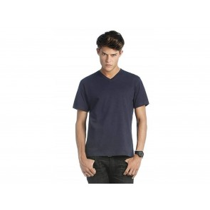 T-SHIRT UOMO MICK SLUB SCOLLO A V B&C COLLECTION