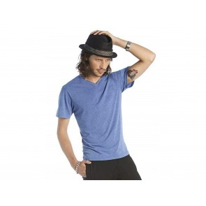 T-SHIRT UOMO MICK DELUXE SCOLLO A V B&C COLLECTION