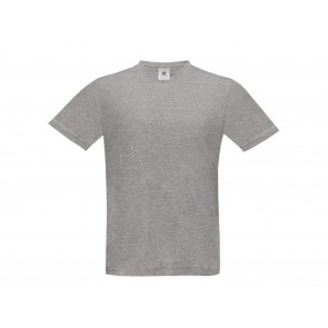T-SHIRT UOMO MANICHE CORTE SCOLLO A V EXACT V NECK B&C COLLECTION