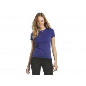 T-SHIRT DONNA WOMAN ONLY B&C COLLECTION