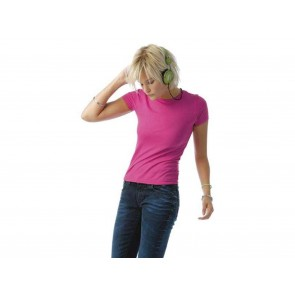 T-SHIRT DONNA FLUORESCENTE ONLY PC B&C COLLECTION